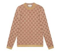 Pullover mit GGMotiv aus Kristallen
