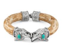 Anger Forest Armband mit Wolfskopf