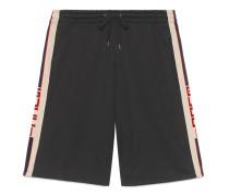 Shorts aus technischem Jersey