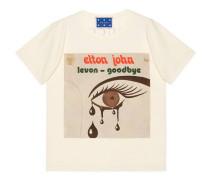 Übergroßer Gucci Elton John T-Shirt