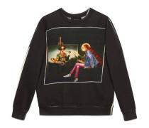 Pullover mit #GucciHallucination Print