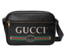 Schultertasche mit Gucci Print
