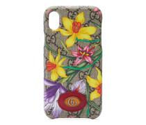 Ophidia GGiPhone XR-Hülle mit Flora-Print