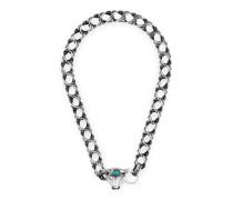 Anger Forest Halskette aus Silber mit Stierkopf