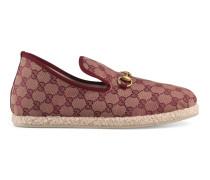 Herren-Loafer aus GG Canvas