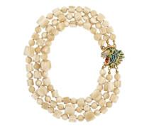 Halskette aus Plexiglas mit Tigerkopf-Verschluss