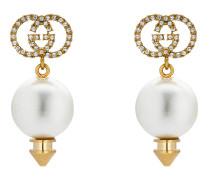 GG Ohrringe mit Perle