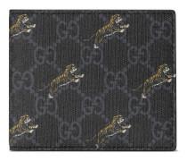 GG Brieftasche mit Tiger-Print