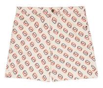 Shorts mit ovalem GGPrint