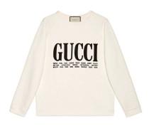 Übergroßer Pullover mit Gucci Cities-Print