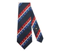 Breite Krawatte aus Seide
