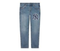 Herren Hose aus Denim mit NY Yankees™-Patch