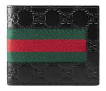 Portemonnaie aus Gucci Signature Leder