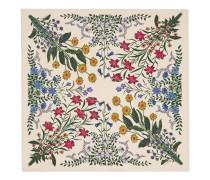 Vierecktuch aus Seide mit New Flora-Print