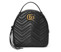 GG Marmont Rucksack aus gestepptem Leder