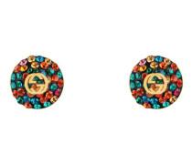 Ohrringe mit GG und Kristallen