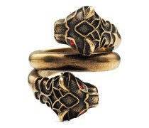 Tigerkopf-Ring