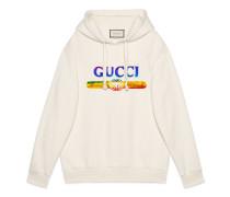Pullover mit GucciPailletten-Logo