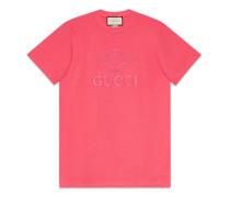 T-Shirt mit GucciTennis-Stickerei