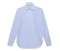 Oxford-Hemd aus G- und Punkt-FilCoupé