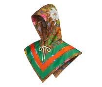 Kapuze aus GG Nylon mit Flora-Print