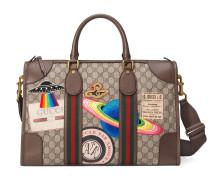 GucciCourrier Reisetasche aus weichem GGSupreme