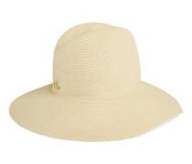 Hut aus Papier mit breiter Krempe