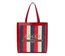 Mittelgroßer Shopper mit Gucci Print