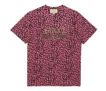 Übergroßes T-Shirt mit GucciLogo