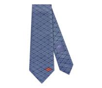 Krawatte aus Seide mit Gucci Game