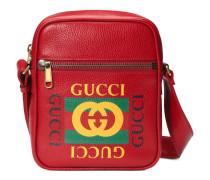 Umhängetasche mit Gucci Print