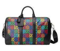 Mittelgroße Reisetasche mit GG Psychedelic