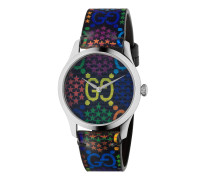G-Timeless Uhr mit GG Psychedelic-Print