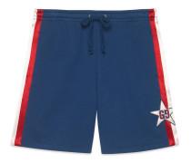 Shorts aus Baumwolljersey mit GGStern