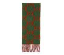 Schal aus Alpakawolle mit GG