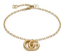 Doppel G Armband aus Gelbgold