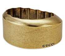 Rundes Armband aus Harz in Metall-Optik
