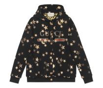 Pullover mit Sterne- und Mond-Print