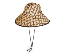 Hut aus GGBast mit breiter Krempe