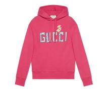 Pullover mit Gucci und Ferkel