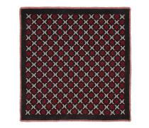 Schal aus Wolle mit GG Diamond-Motiv
