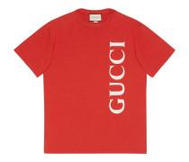 Übergroßes T-Shirt mit Print