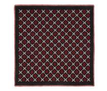 Schal aus Wolle mit GGDiamond-Motiv