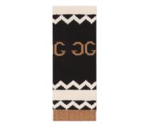 Schal aus Wolle mit gespiegeltem GG