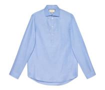 Übergroßes Hemd aus Baumwolle