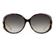 Sonnenbrille mit spezieller Passform mit rundem
