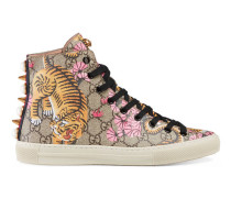 High-Top Sneaker mit Gucci Bengal-Print
