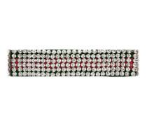 Kopfband mit Webstreifen und Kristallen