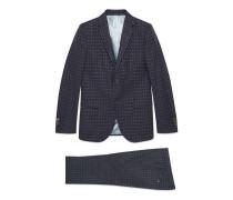 Monaco Anzug aus G- und Punkt-Wolle