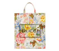 Mittelgroßer Shopper mit Gucci Blumen-Print